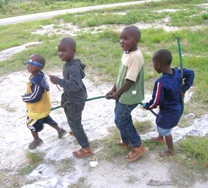 Bahamian Children